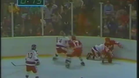 """Final Minute of the """"Miracle on Ice"""" 