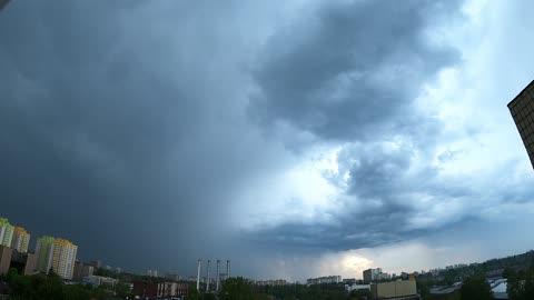 Beautiful sky during quarantine