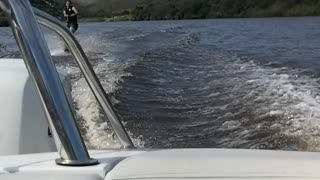 Water Skiing on Breede River