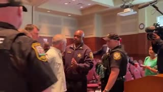 SHOCKING Footage Shows Man Being Arrested for Protesting Critical Race Theory in Schools