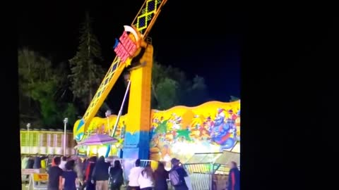 Michigan Carnival Ride Nearly Tips Over