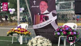 Luis Vega habla sobre el homicidio de su hijo, Álvaro Vega