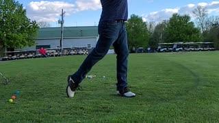 Wedge Full Golf Swing