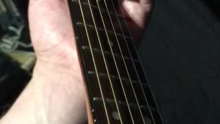 Guitar Lesson - 2 middle fingers pull-off - 1 Half Step