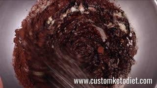 Chocolate Cupcakes Keto - Diet Recipe - Weight Loss