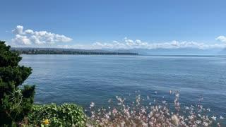 Lac Léman vue de Morges