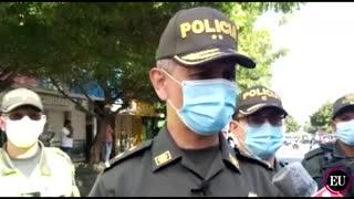 General Diego Rosero Giraldo habla sobre atentado en Barranquilla