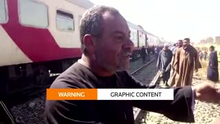 At least 32 killed in Egypt train collision