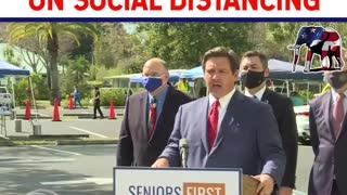 Governor Ron Desantis Schools Reporter for Stupidity