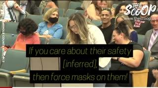 Florida Parents BLOW UP School Board Meeting Over Mindless Mask Mandates