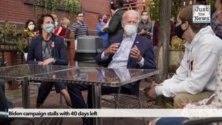Biden campaign stalls with 40 days left