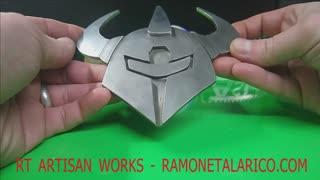 Custom lMega Sized Belt buckle -Horned- RAMONETALARICO.COM
