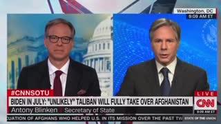 Jake Tapper and Secretary of State Antony Blinken on Taliban