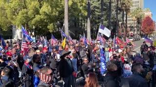 StopTheSteal _ California State Capitol Protest Sacramento, CA Week 4 November 28, 2020 IMG 2803