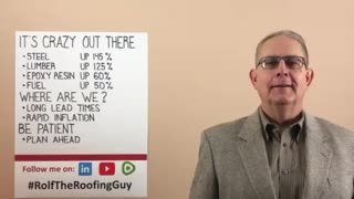 Is the world really this crazy? With #RolfTheRoofingGuy