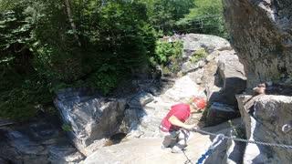 Cliff Hanger - Canyon Sainte Anne, Quebec, Canada - Summer 2018