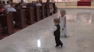 Watch kids spoiling wedding - Very funny