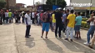 Largas filas para adquirir las boletas del Preolímpico en Bucaramanga