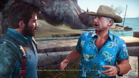 Just Cause 3 Demo Gameplay part 21 Beginning Mission Friends Like These .....