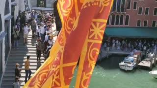 Venetians Protest Lockdown Measures Affecting Tourism