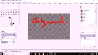 GIMP scaling