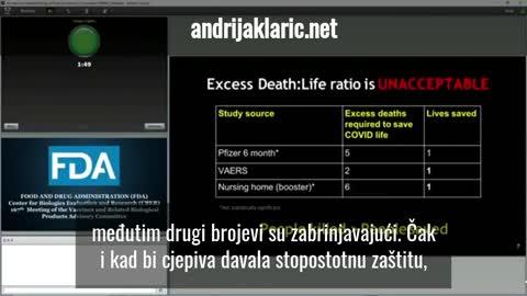 Steven Kirsh - Hrvatski titlovi - smrtnost cijepljenih i necijepljenih
