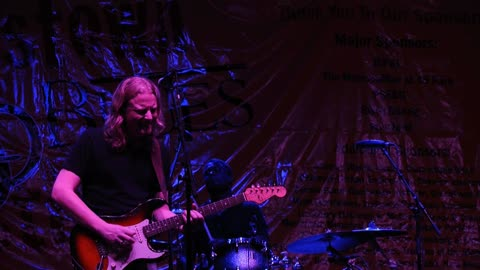 2014-08-16 Matt Schofield Trio Morristown Jazz and Blues Festival