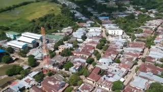 Sobre vuelo sobre Sucre - Sucre, Colombia