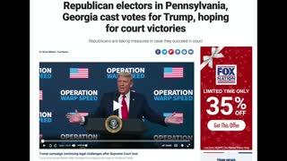 Electoral Battle - December 14th 2020 Election update