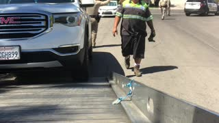 Police Called After Tow Truck Tussle