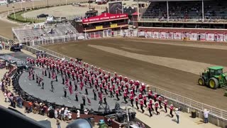Calgary Stampede Showband at the Calgary Stampede 2021