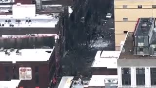 Nashville Bomb Explosion Caught On Surveillance Camera