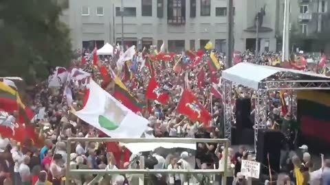 Prosvjedi Litva (8.2021)