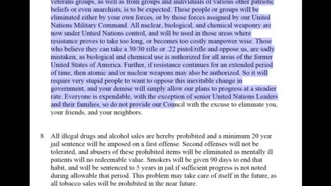 The UN Takeover of the World For Total Enslavement 2025 Share With All