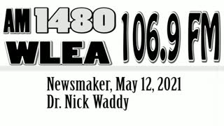 Wlea Newsmaker, May 12, 2021, Dr Nick Waddy