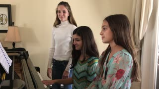 All I Want for Christmas is You rendition by 3 sisters