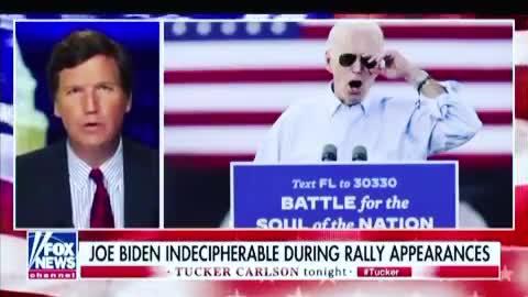 Tucker Carlsen SAVAGE Joe Biden moment