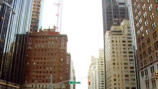 Running fast through the city corridors