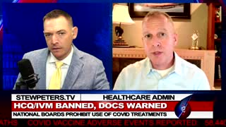 Hospital Administrator: Lots of People Will Die - Doctors BANNED From HCQ/IVM