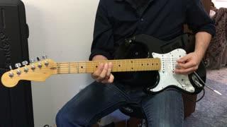 Guitar Lesson / Tutorial - Rick Derringer - Rock & Roll Hootchie Koo - Verse