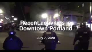 Portland Police Respond To 42 Straight Days Of Civil Disturbance