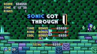 Sonic Mania Bubble Jump