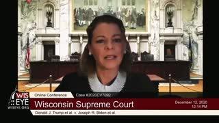 JUDGE DEFENDS ILLEGAL BEHAVIOR! Wisconsin Supreme Court