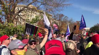 Million Maga March Proud to be an American