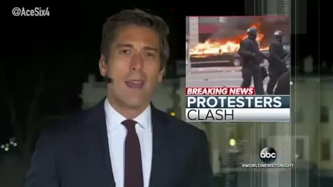 Trump Inauguration Protests And Violence
