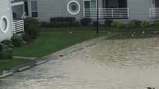 Nasty Nor'easter Floods Roads