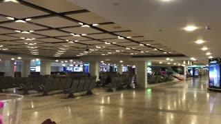 Dubai airport during lockdown