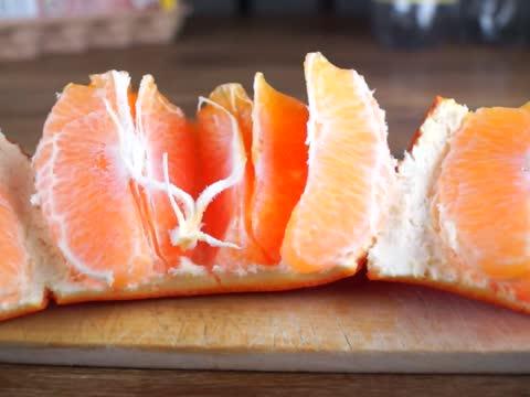Life Hack: Fastest way to peel an orange