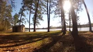 Drone Video of Monroe County Lake Feb 2016