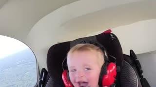 Levi enjoying flying